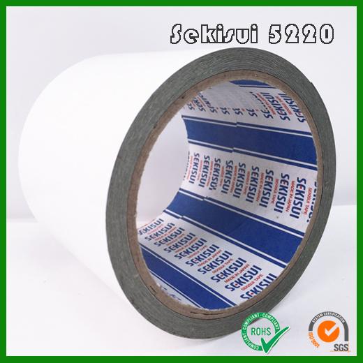 积水5220PSB防水黑色泡棉双面胶_积水Sekisui5220PSB高性能泡棉胶
