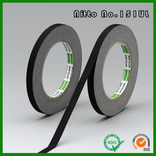 日东151UL醋酸布基材绝缘胶带_Nitto 151UL符合UL认证的绝缘阻燃胶带
