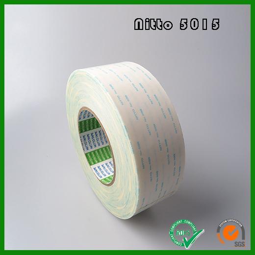 日东5015高粘性压敏胶系无纺布双面胶带 Nitto No.5015高性能胶带