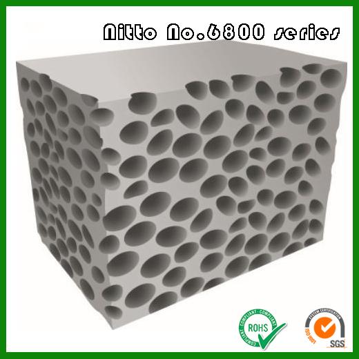 日东6800系列高性能密封用泡棉 Nitto No.6800系列高韧性弹性泡棉材料