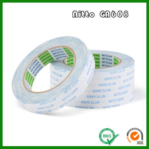 日东GA608无纺布基材双面胶带_Nitto GA608高韧性普通粘结双面胶