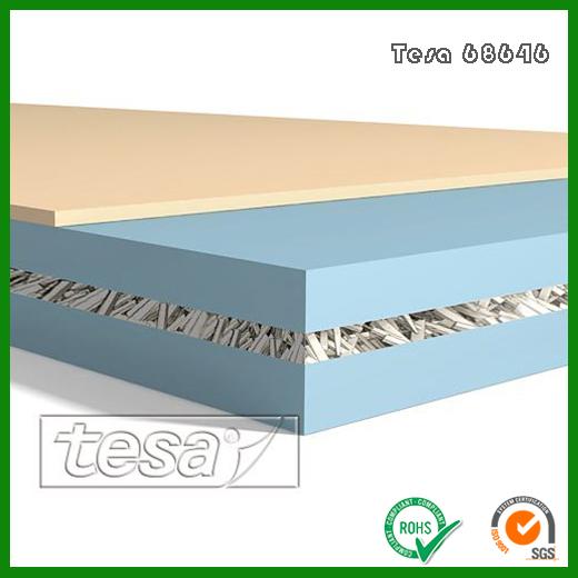 德莎68646无纺布胶带_Tesa68646半透明高性能双面胶带