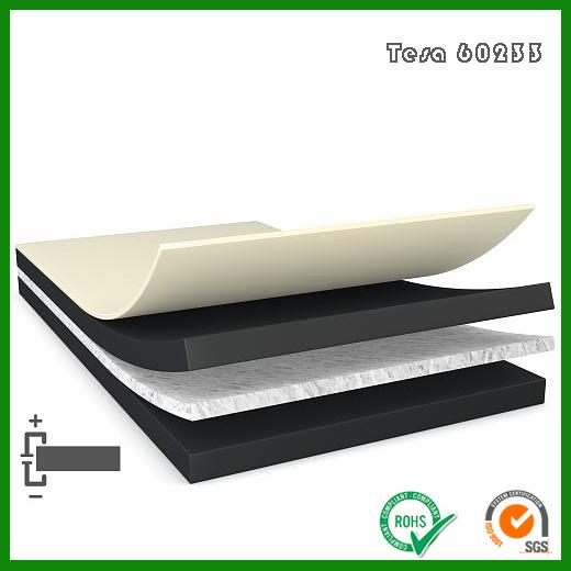德莎60272无纺布导电胶带_tesa60272黑色EMC应用双面导电胶带