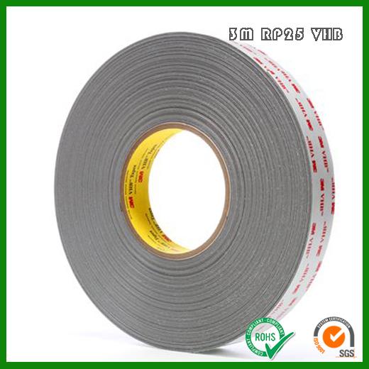 3M RP25 VHB丙烯酸泡棉强力胶带_3MRP25VHB泡棉胶带供应