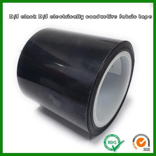 黑色导电布双面胶带 | 0.05mm厚度导电布基材导电胶带